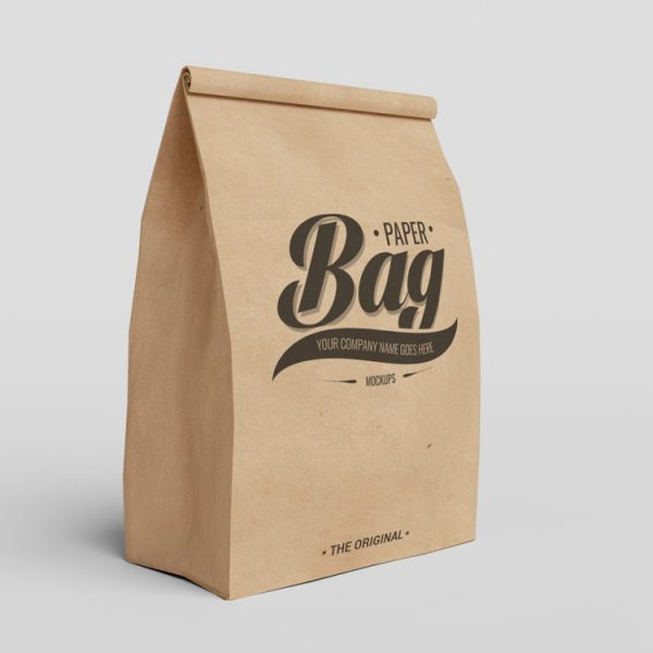 Paper bag psd mockups 1