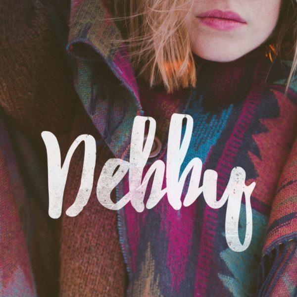 Debby free font 1