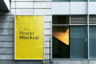 Free poster and billboard mockups 10