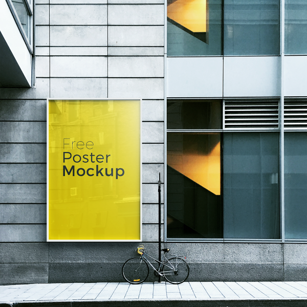 Free poster and billboard mockups 7