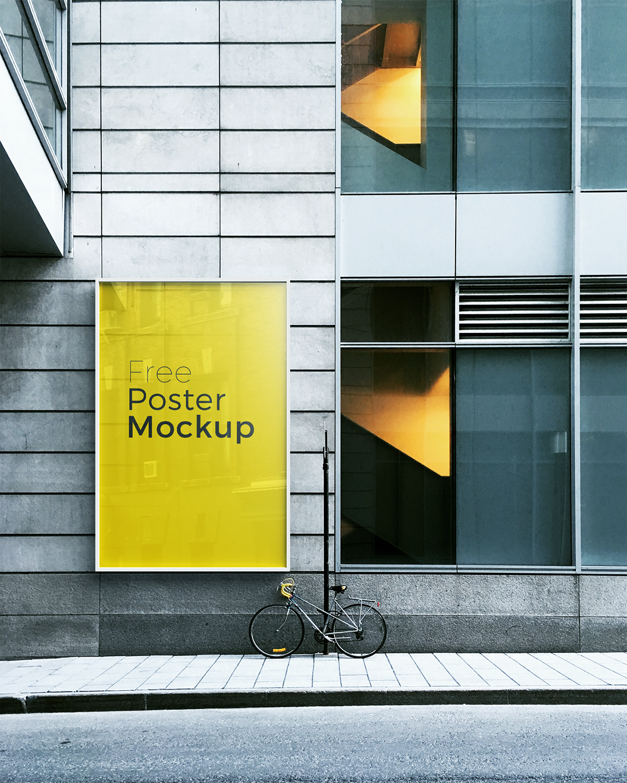 Free poster and billboard mockups 1