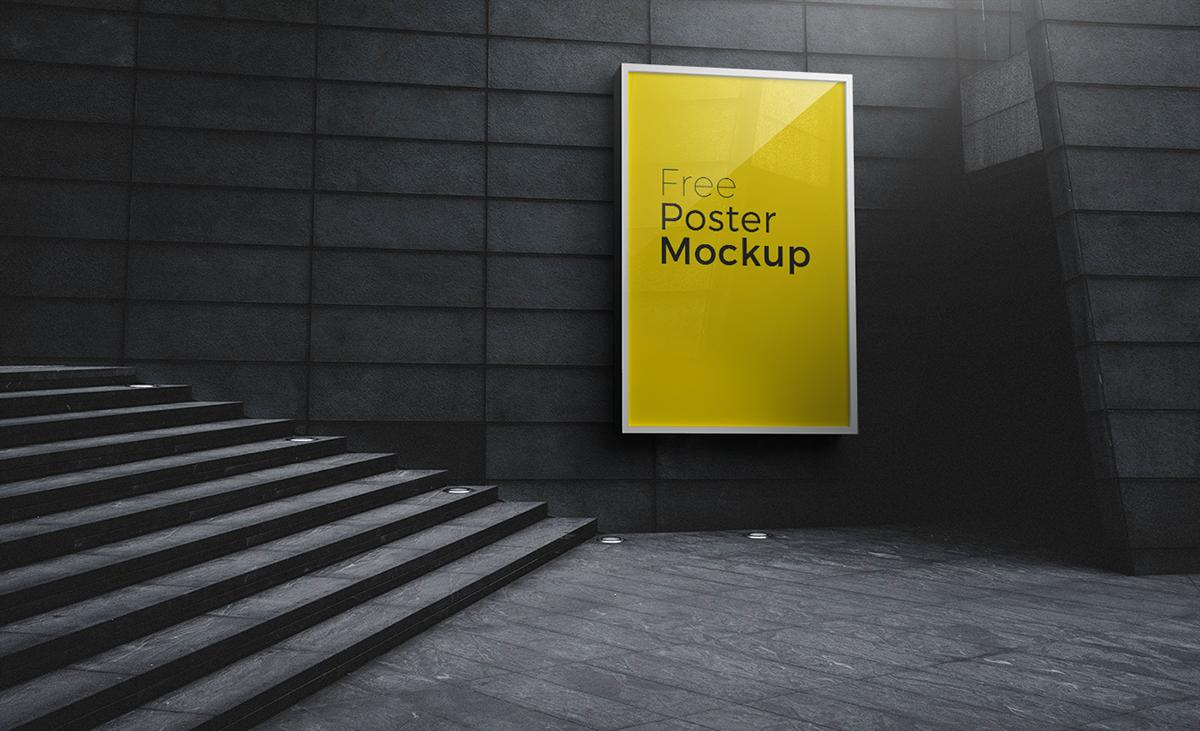 Free poster and billboard mockups 2