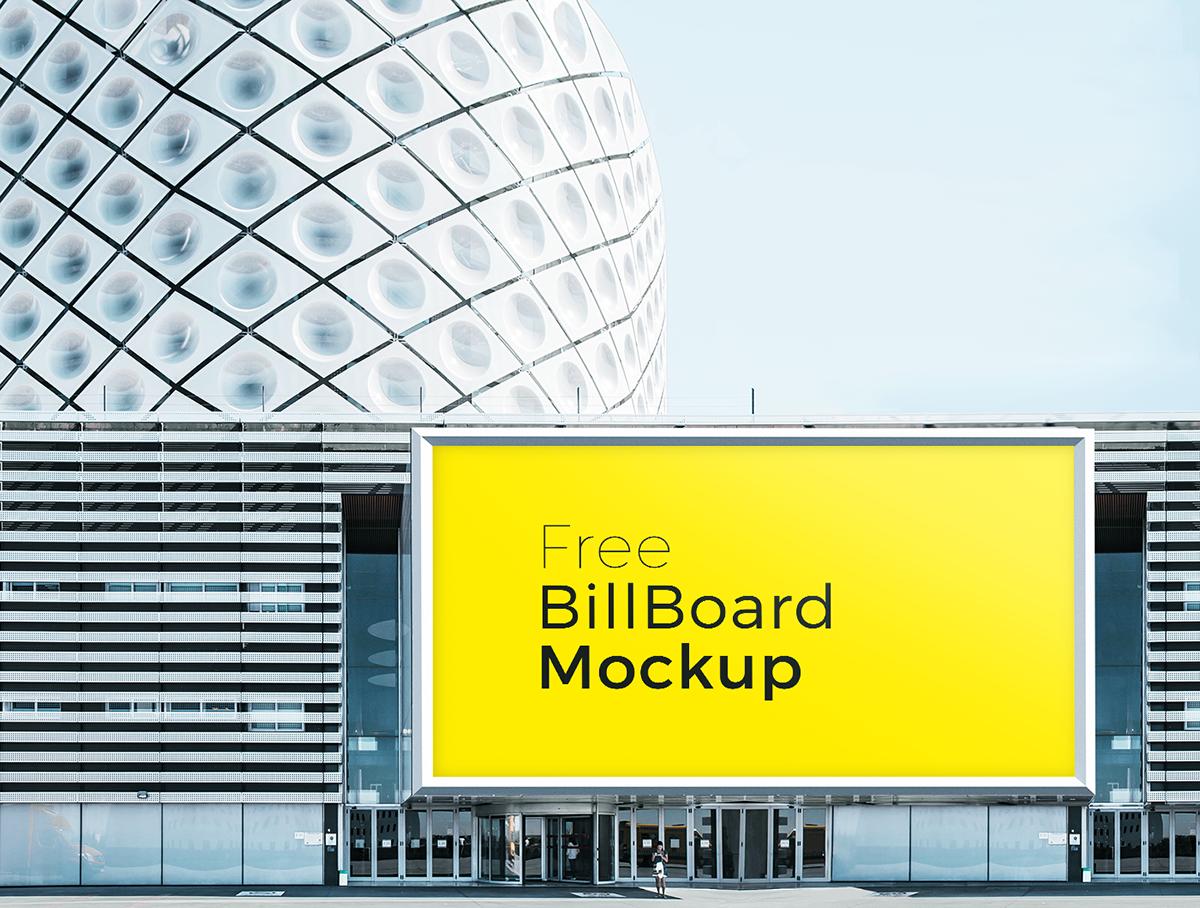 Free poster and billboard mockups 6