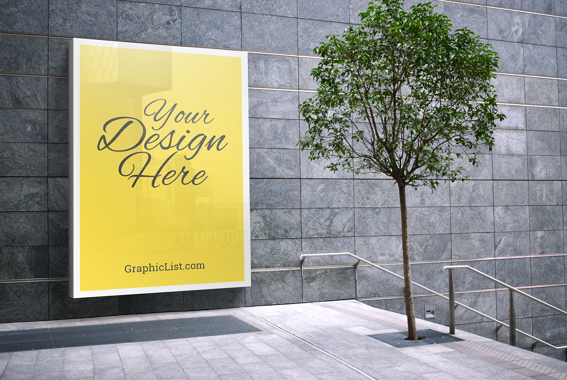 Outdoor advertising mockup #1 1