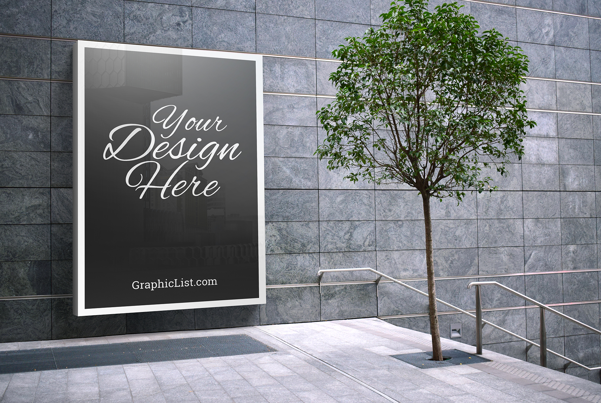 Outdoor advertising mockup #1 2