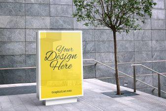 Outdoor advertising mockup #2 7