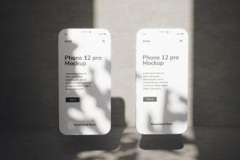 free iphone 12 pro mockup