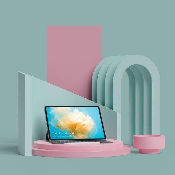 iPad Pro mockup 1