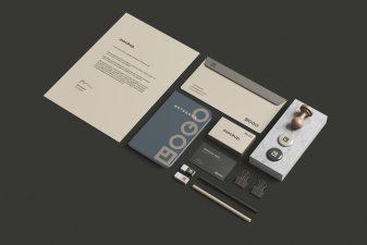 Free Stationery / Branding Mockup